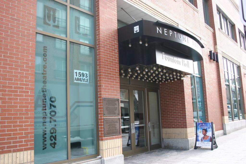 In this image: Neptune Theatre.