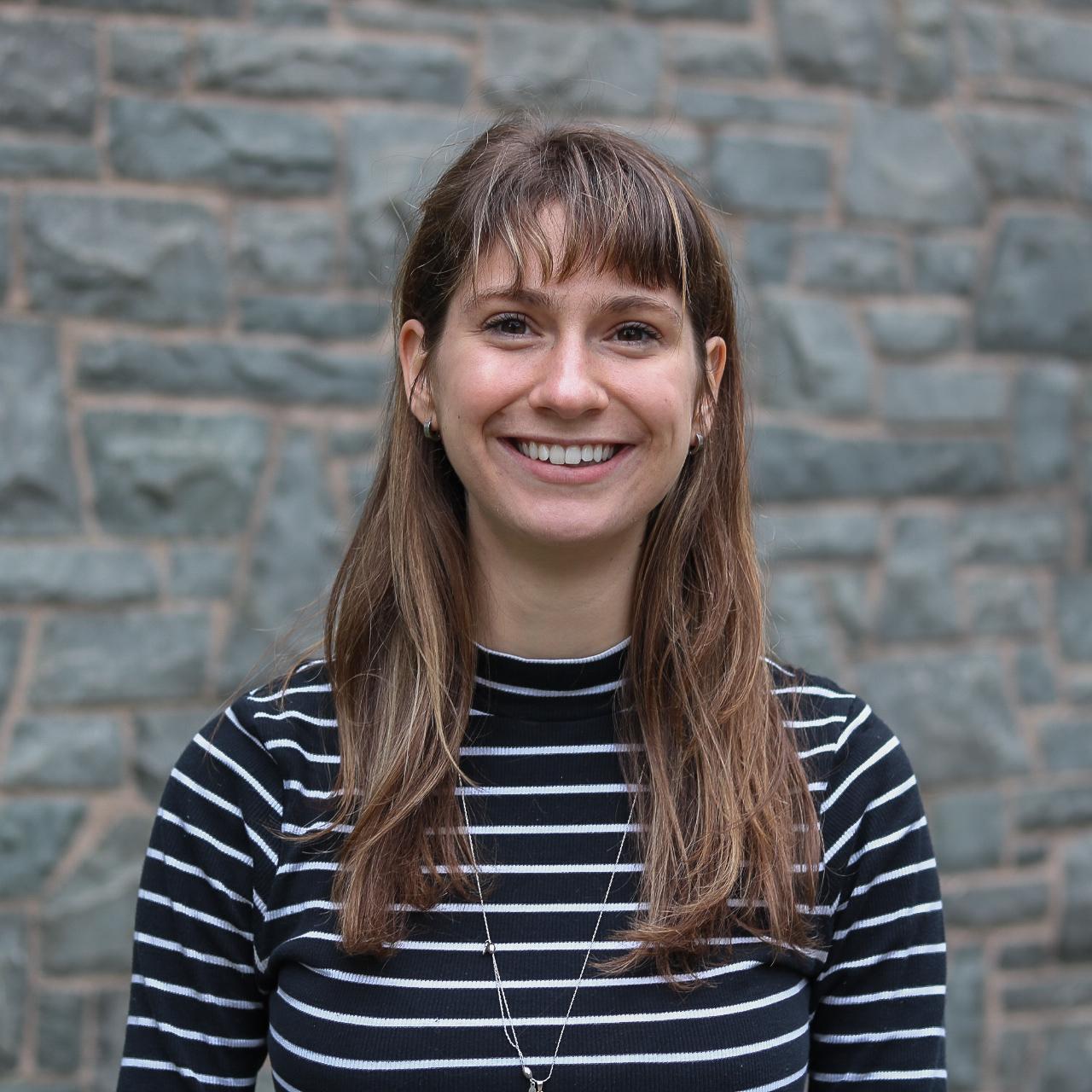 In this image: headshot of Alexandra Sweny.
