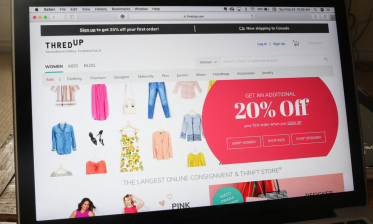 ThredUP misses the point of thrifting