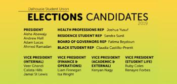 DSU Vice-president (Internal) candidate: Calista Hills