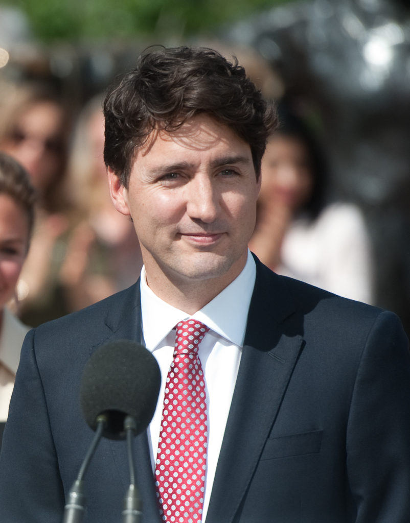 In this image: Justin Trudeau.