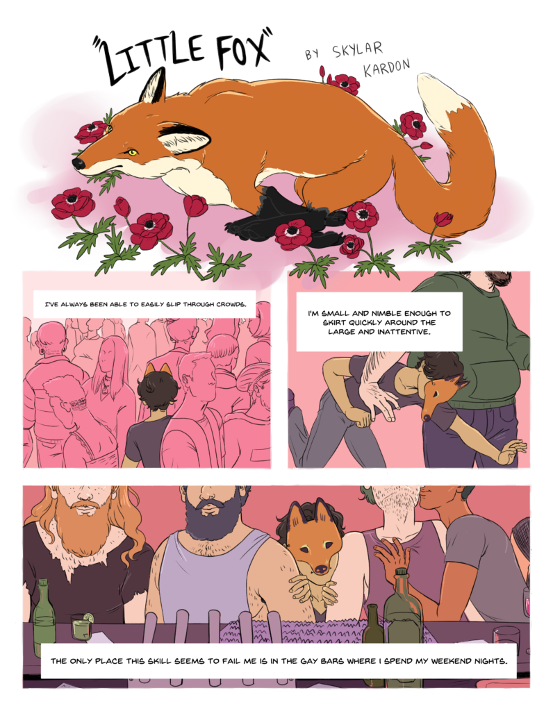 "In this image: A page from ""Little Fox."""