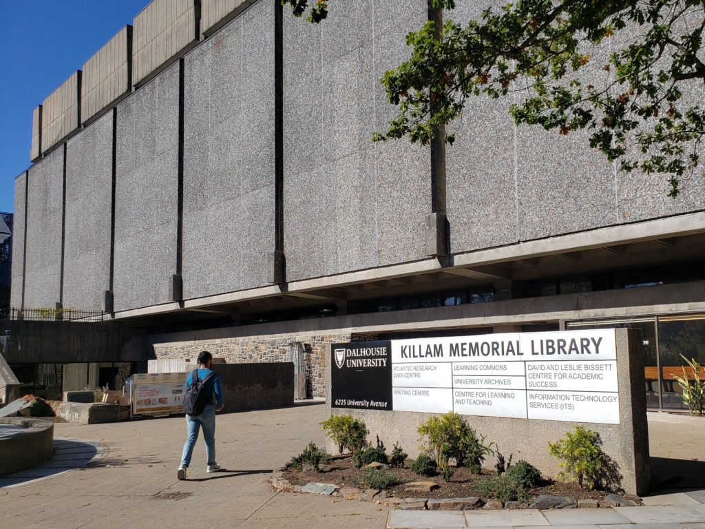 In this image: The Killam Library.