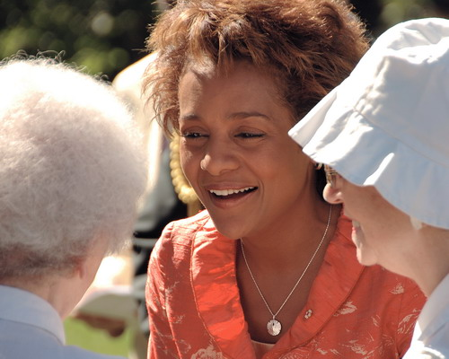 In this image: Michaëlle Jean in 2006.