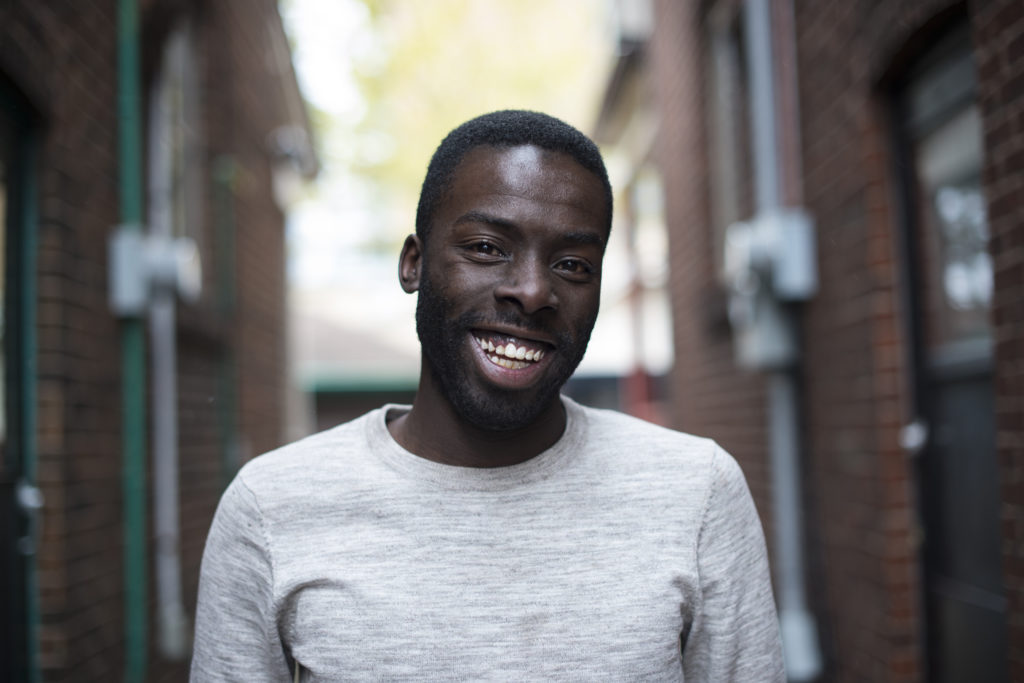 In this image: A headshot of Desmond Cole.