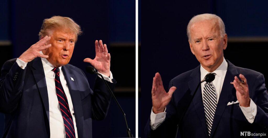 Tump vs. Biden
