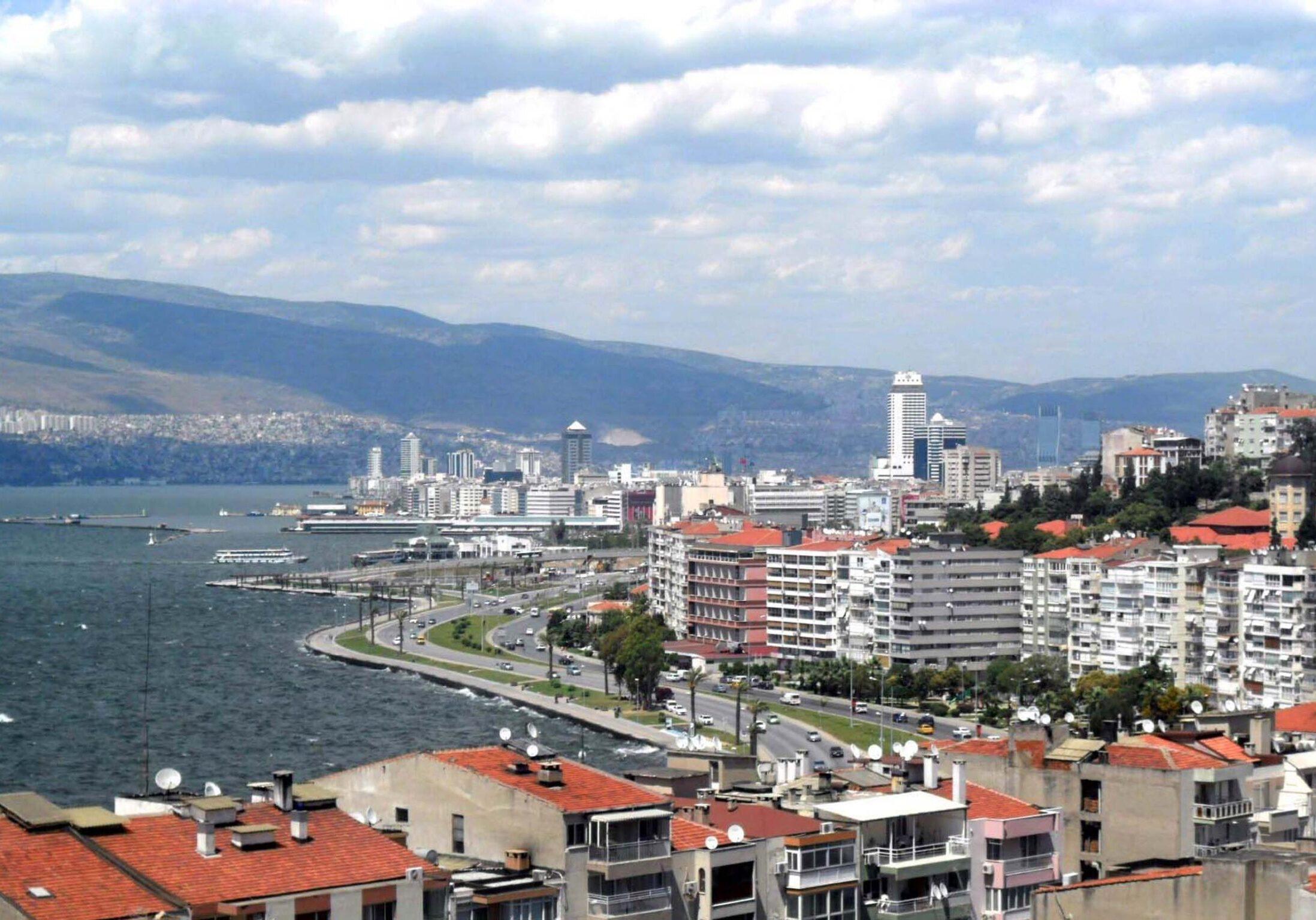 Izmir, Turkey was struck by a magnitude 7 earthquake on Oct. 31, 2020. (Photo by Nedim Ardoğa)