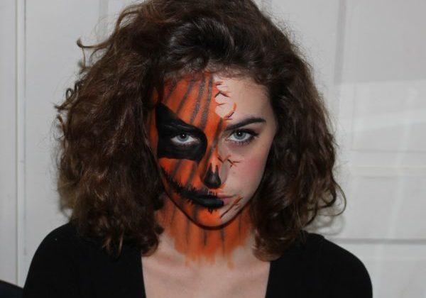 Halloween Make up Pumpkin 6_Laura Hardy
