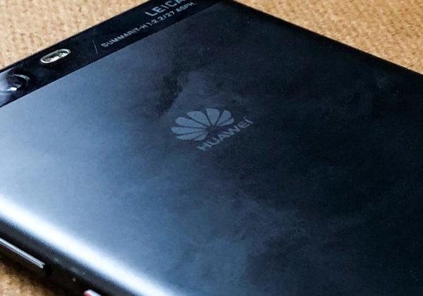 A Huawei smartphone.