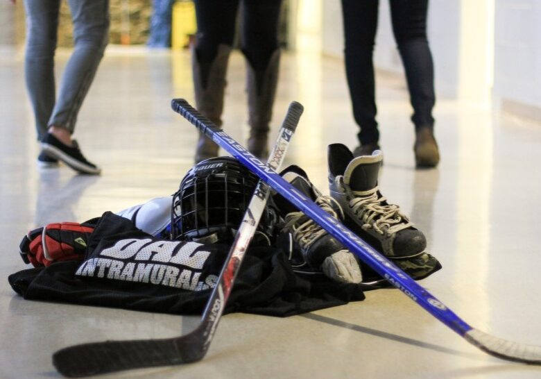 Intramurals are making a limited comeback this semester, but the opportunity means a lot for Dal  students who miss regular social interaction. (Photo by Bryn Karcha)