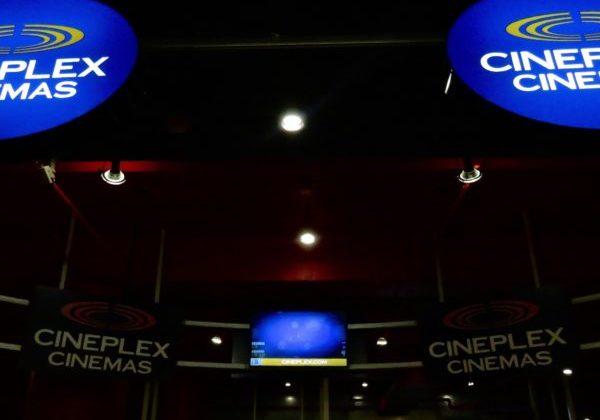 Cineplex movie theatre.