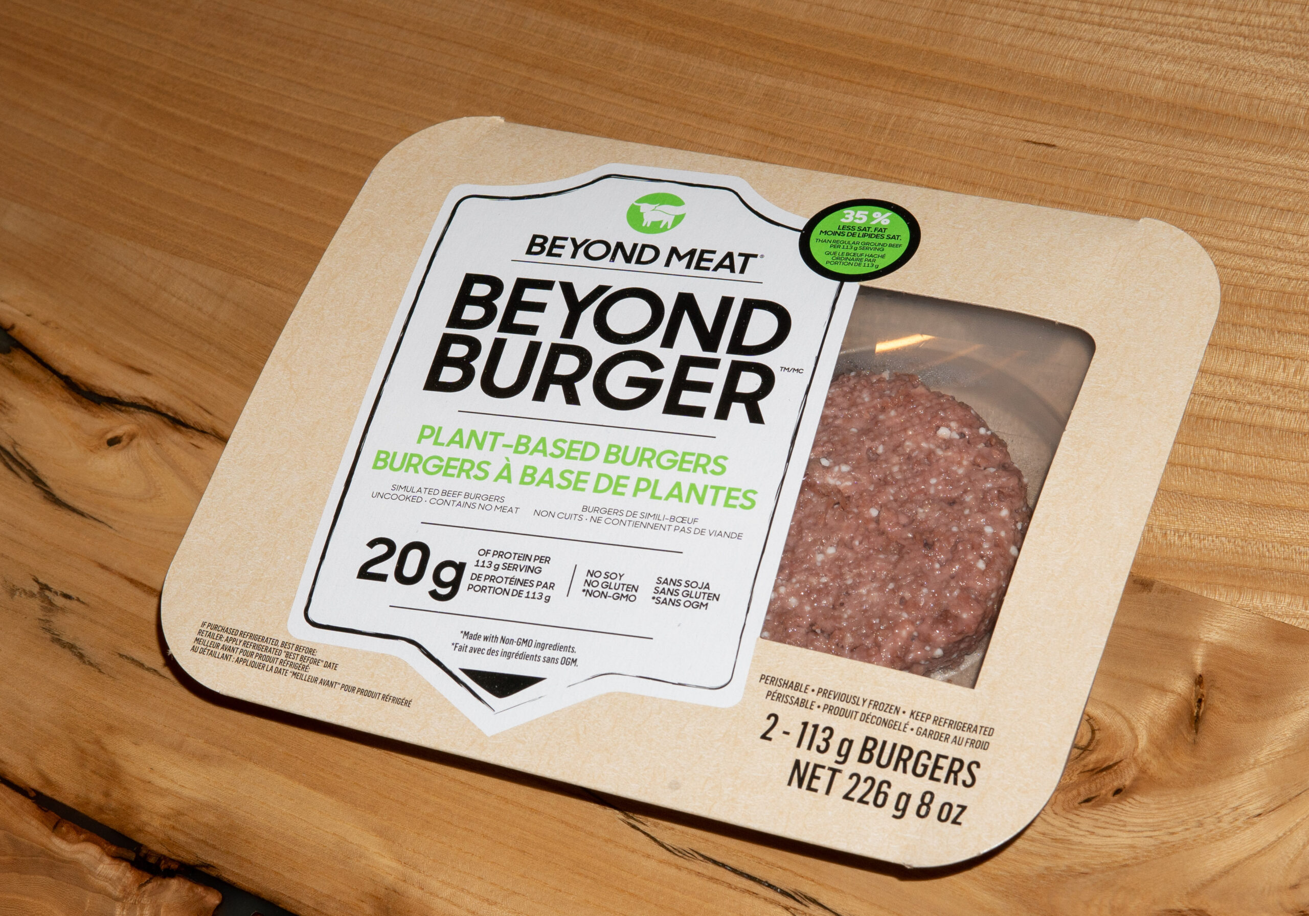 Companies like Beyond Meat have benefitted from the growing trend toward veganism. But are you ready to switch to a plant-based diet? (Photo by Geoffrey Howard)